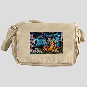 Ganja Graffiti Messenger Bag