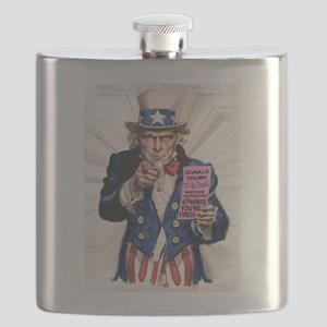 President Trump You're Fired Flask