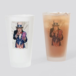 President Trump You're Fired Drinking Glass