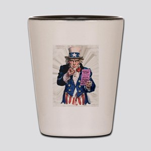 President Trump You're Fired Shot Glass