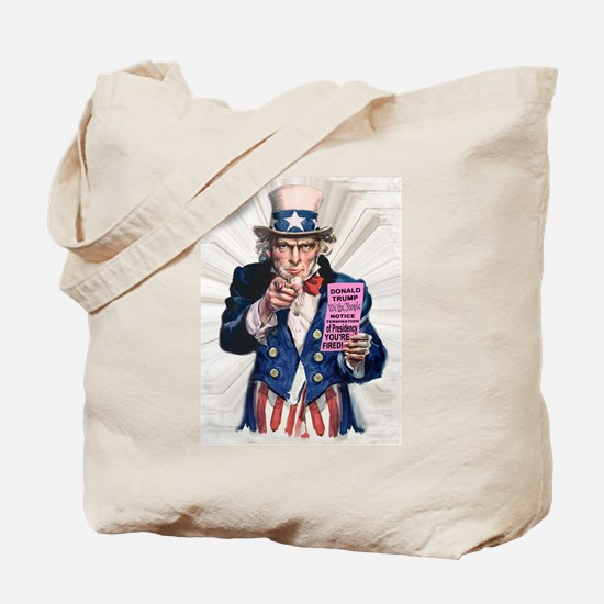 President Trump You're Fired Tote Bag