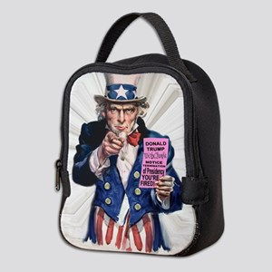 President Trump You're Fired Neoprene Lunch Bag