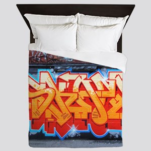 Ganja Graffiti Queen Duvet