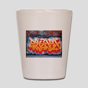 Ganja Graffiti Shot Glass