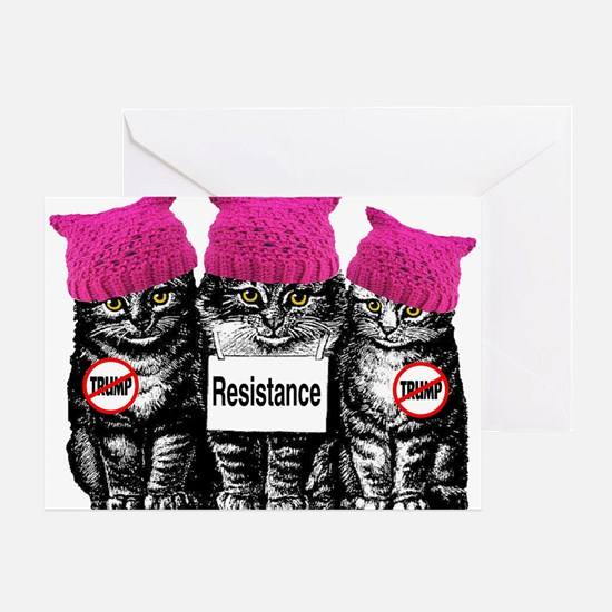Resistance March Greeting Cards