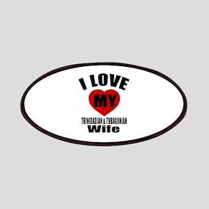 I Love My TRINIDADIAN Wife Patch