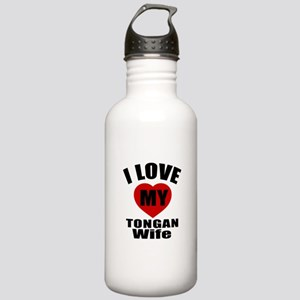 I Love My Tongan Wife Stainless Water Bottle 1.0L
