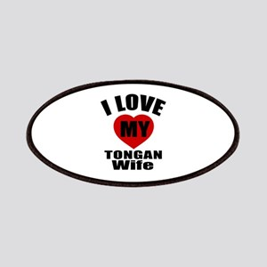 I Love My Tongan Wife Patch