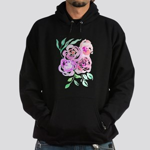 Pastel Watercolor Roses Sweatshirt