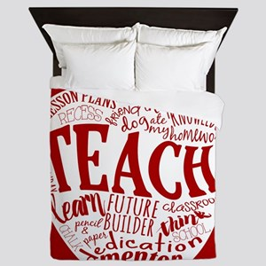 Teacher Queen Duvet