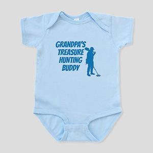 Grandpas Treasure Hunting Buddy Body Suit