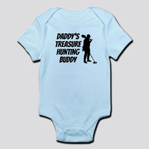 Daddys Treasure Hunting Buddy Body Suit
