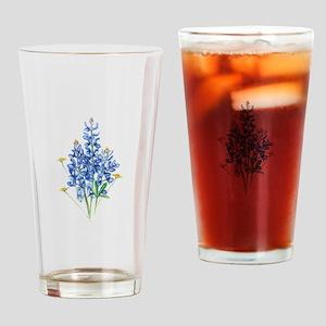 Bluebonnets Drinking Glass