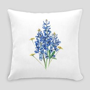 Bluebonnets Everyday Pillow