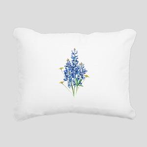 Bluebonnets Rectangular Canvas Pillow
