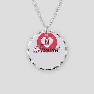 naomi Necklace Circle Charm