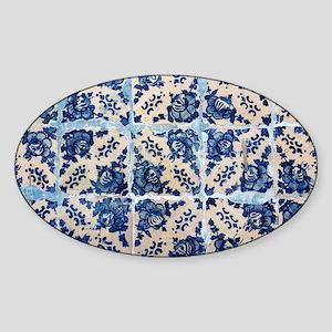 Portuguese Azulejo tiles Sticker