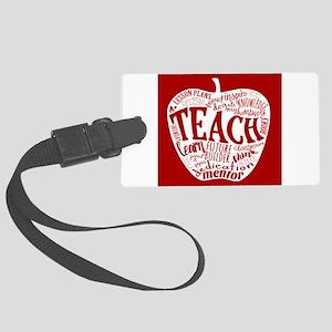Teacher Large Luggage Tag