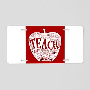 Teacher Aluminum License Plate