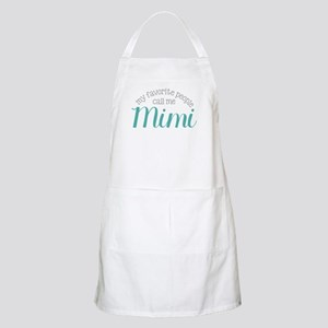 My Favorite People Call Me Mimi Apron