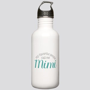 My Favorite People Call Me Mimi Water Bottle