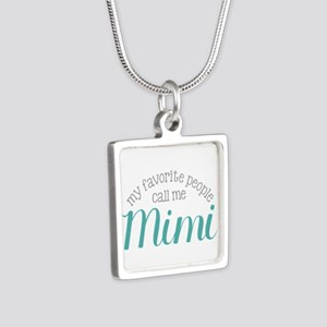 My Favorite People Call Me Mimi Necklaces