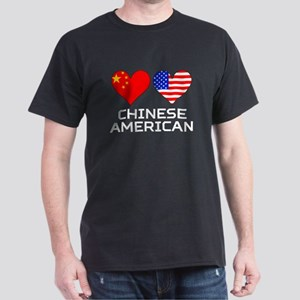 Chinese American Hearts T-Shirt