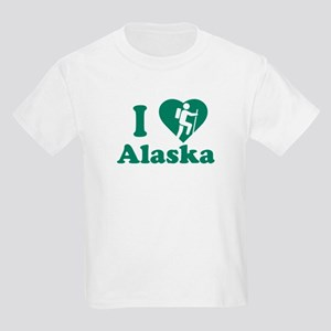 Love Hiking Alaska Kids Light T-Shirt