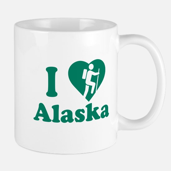 Love Hiking Alaska Mug