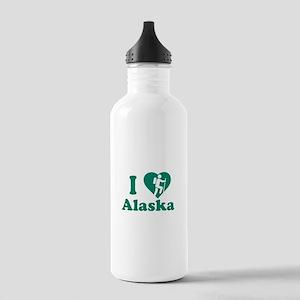 Love Hiking Alaska Stainless Water Bottle 1.0L