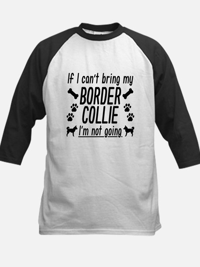 Border Collie Baseball Jersey