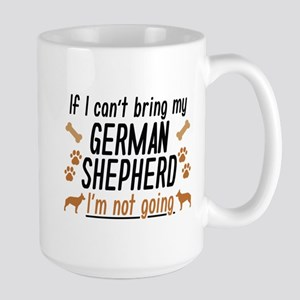 German Shepherd Large Mug