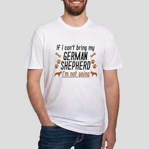 German Shepherd Fitted T-Shirt