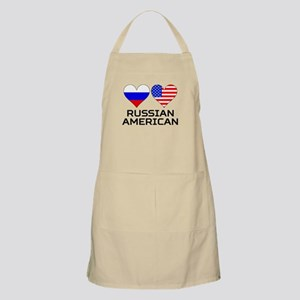 Puerto Rican American Hearts Apron