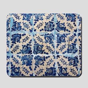 Portuguese Azulejo tiles Mousepad