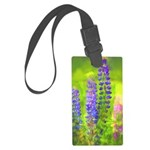 Lupines Large Luggage Tag