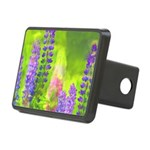 Lupines Rectangular Hitch Cover