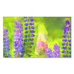 Lupines Sticker (Rectangle 10 pk)