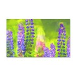 Lupines 20x12 Wall Decal