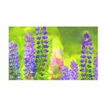 Lupines 35x21 Wall Decal