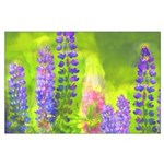 Lupines Large Poster
