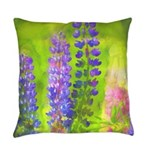 Lupines Everyday Pillow