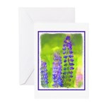 Lupines Greeting Cards (Pk of 10)