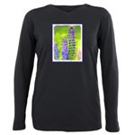 Lupines Plus Size Long Sleeve Tee