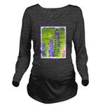 Lupines Long Sleeve Maternity T-Shirt