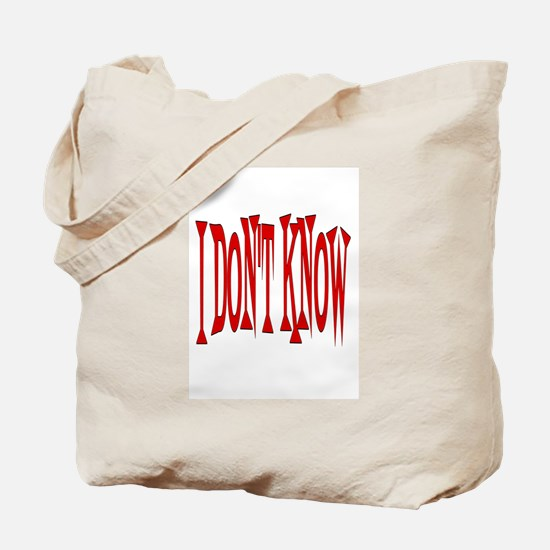 Unique Know Tote Bag
