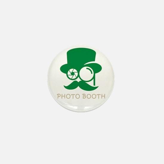 photo booth Mini Button