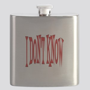 I DON'T KNOW Flask