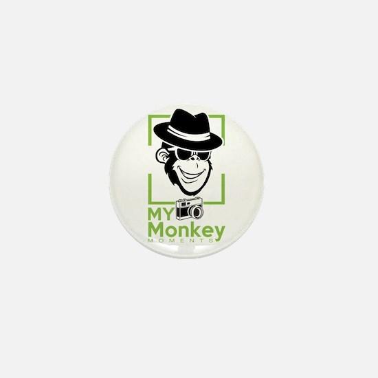 my monkey moments Mini Button