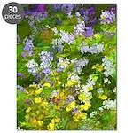 Maine Impasto WIldflowers Puzzle